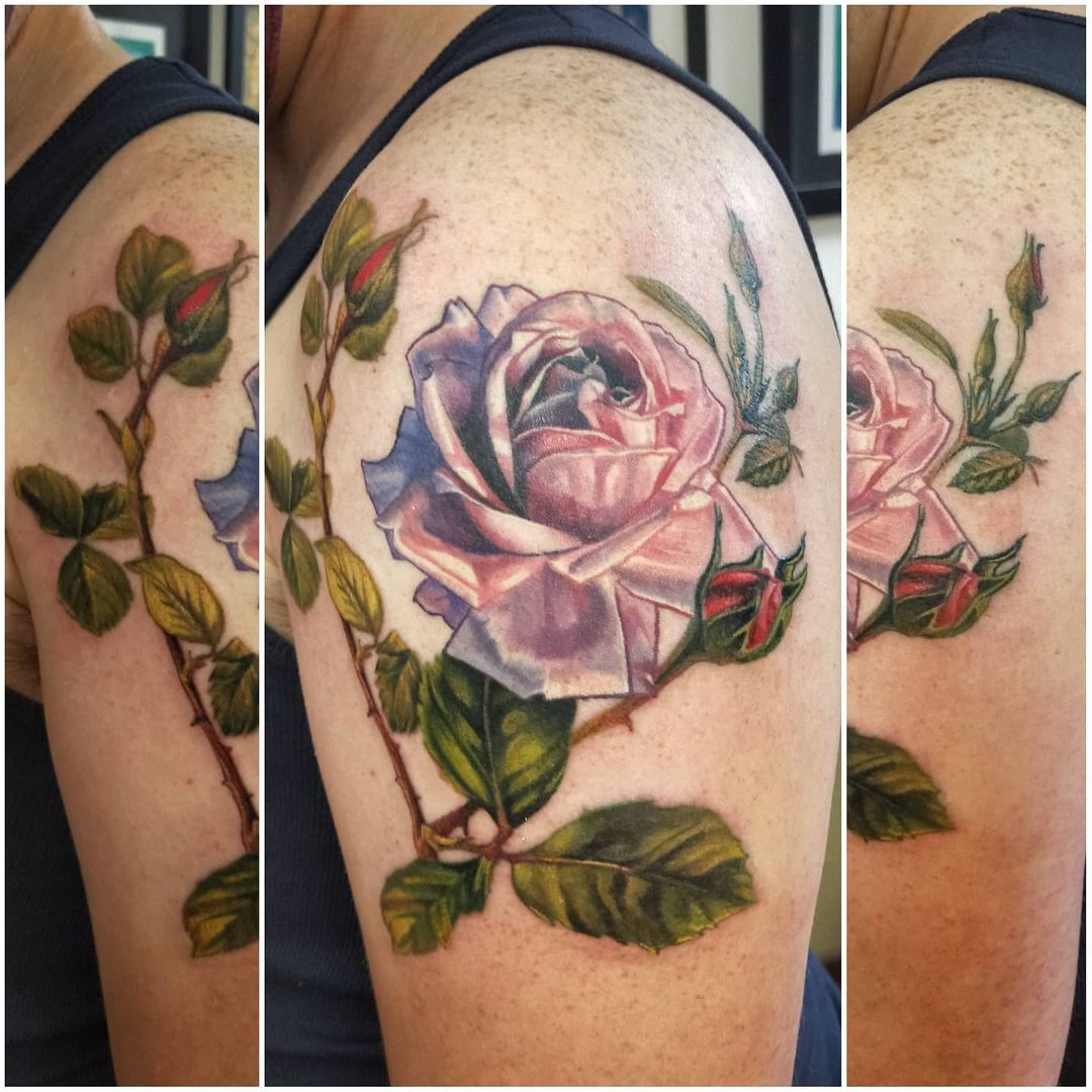 dave clayton tattoo flora 5